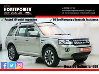 2014 Land Rover Freelander 2 2.2 SD4 HSE Luxury 4X4 5dr SUV Diesel Automatic