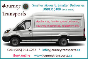 One Bedroom Small Moves. Honest & Friendly T: 905-964-6282