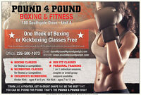 Boxing & Kickboxing Classes - One Week Free