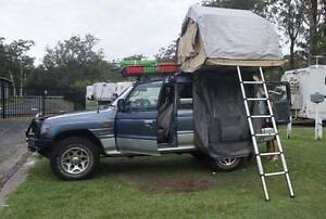 4x4 Mitsubishi Pajero Campervan & Roof Tent with ALL Camping Gear North Sydney North Sydney Area Preview