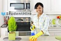 House Cleaning by StudentHire - As seen on CTV & CBC!