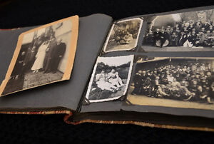 WANTED TO BUY YOUR OLD ANTIQUE PHOTO ALBUMS / PHOTOS
