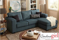 Brand NEW Teal 2-Piece Sectional! Call 306-347-3311!