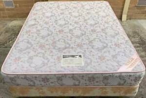 Excellent queen bed base with queen mattress #16. Pick up or deliver