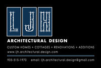 Architectural Design, Custom Homes, Cottages, Renos & Additions