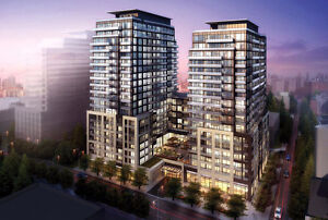 Newly Built Condo 1 + 1 Bed Downtown Toronto