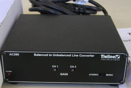 Audio Balanced to Unbalanced dual channel converter JG1 Blackett Blacktown Area Preview