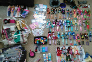 HUGE Doll Lot Plus Accessories