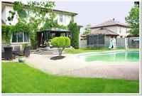 Amazing West Island home. Large house, Pool, Awesome location