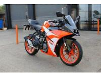 2018 - KTM RC 125 17 15 BHP, LIKE A BRAND NEW BIKE, £3,750 OR FLEXIBLE FINANCE