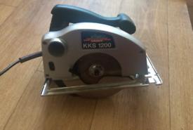 Handheld circular saw. King Kraft