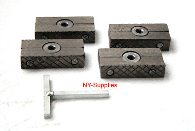 Letterpress Quoins And Quoin Key Set 4 For Heidelberg Windmill Kluge Miehle