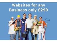 GET A BRAND NEW WEBSITE FOR YOUR BUSINESS FOR £299!