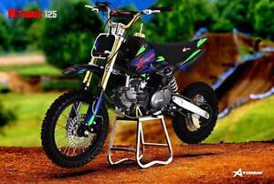 2016 ATOMIK NITROUS 125CC PIT TRAIL MOTOR DIRT BIKE OFFROAD MX Keysborough Greater Dandenong Preview