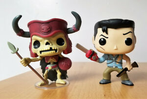 Funko Pop Movies Army of Darkness Loose Out of Box Deadite Ash