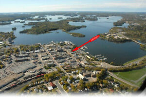 Perfect Location for Sale on Kenora Harbourfront/Main Street