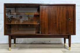 Mid Century Bookcase (DELIVERY AVAILABLE)
