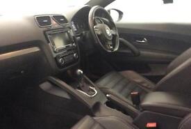 BLACK Volkswagen Scirocco 2.0 TSI ( 265ps ) DSG R LINE GT FROM £72 PER WEEK