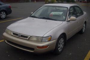 1996 Toyota Corolla Familiale