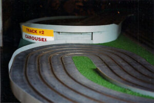 4 Lane, 1/32 scale LARGE Slot Car Racing Track 8,  12 x 8 ft