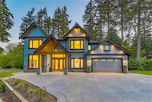 Surrey luxury brand new house of famous school district for sale