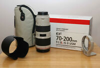 Canon EF 70-200mm f/2.8L IS USM II___UV & POLAR filters included