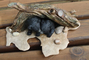 3-D Table Sculpture, Hand Crafted Baby Bears Belleville Belleville Area image 5