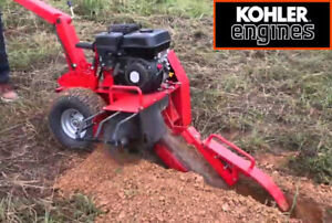 NEW PORTABLE TRENCHER MACHINE KOHLER GAS 7 HP ENGINE CABLE