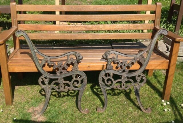 Surprising Pair Of Victorian Cast Iron Garden Bench Ends With Lion Heads 70 Or Best Offer In Dundee Gumtree Inzonedesignstudio Interior Chair Design Inzonedesignstudiocom
