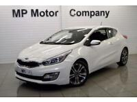 2014 64 KIA CEED 1.6 PRO CEED SE AUTO 133 BHP 3DR 6SP AUTO HATCH,19,000M,FKSH
