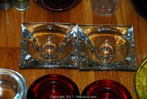 Candle Holders: votives, brass candle sticks, glass lantern