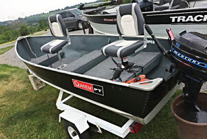 Perfect Fishing Boat: 12ft with 9.8 Mercury