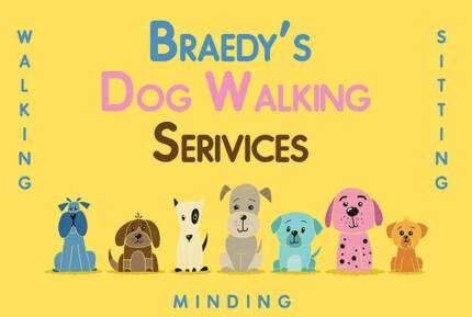 Dog Walking, Sitting, Minding Services
