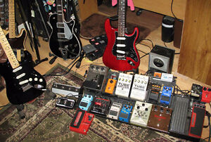 I want to trade non-musical items for guitar gear