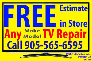 Hitachi, LED HDTV, LCD TV, 3D, 4K, Smart TV Repair