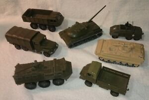 Diecast, Solido,  made in France Army Vehicles