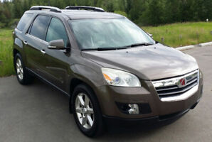 2008 SATURN OUTLOOK XR. ALL WHEEL DRIVE. ORIGINAL OWNER FROM NEW