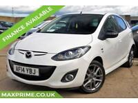 MAZDA 2 1.3 SPORT PEARL WHITE COLOUR EDITION 5D 85 BHP MAZDA MAIN DEALER HISTORY