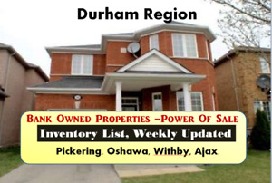Durham Bank Owned Properties, Free List
