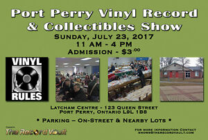 Port Perry Vinyl Record & Collectibles Show