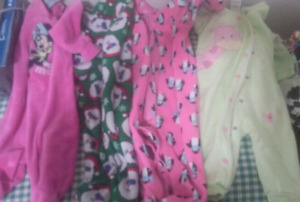 Baby girl clothes lot (3-6 months)