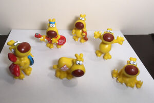 """Grimmy"" (Mother Goose & Grimm)  figurines (6) - from 1989"