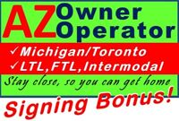 AZ Owner Operator Wanted – What fits you best?