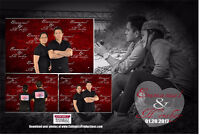 CutiePics Photo booth for only $300.00 Unlimited Prints