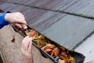 Nettoyage gouttieres/gutter cleaning free estimation 4382288258