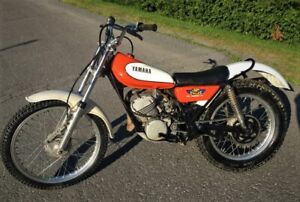 1976 YAMAHA TRIAL TY 175  TRES SOLIDE FONCTIONNE A1   1300$
