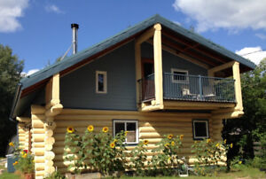 Beautiful Log House for Sale in Fort Smith, NWT