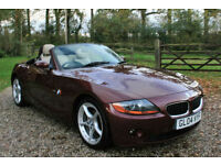 2004 BMW Z4 2.5 SE CONVERTIBLE MANUAL SPORTS ROADSTER WARRANTIED LOW MILEAGE