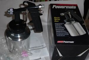Coleman Powermate paint spray gun.