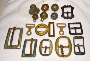 Buckles & Bells Metal Detecting Finds